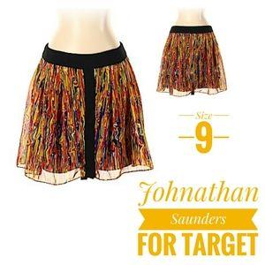 Jonathan saunders for target full mini skirt sz 9